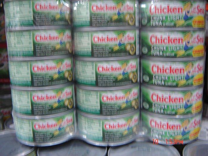 Tuna  15 cans  ( 0.375 lbs., 170 g. each ) pack
