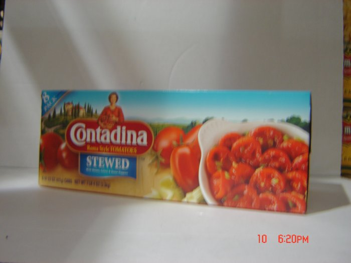 Tomatoes, Stewed    8 cans ( 0.91 lbs., 415 g. each ) pack