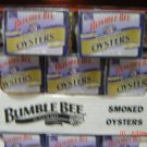 Oysters, Fancy Smoked  6 cans (0.24 lbs., 106 g. each) pack