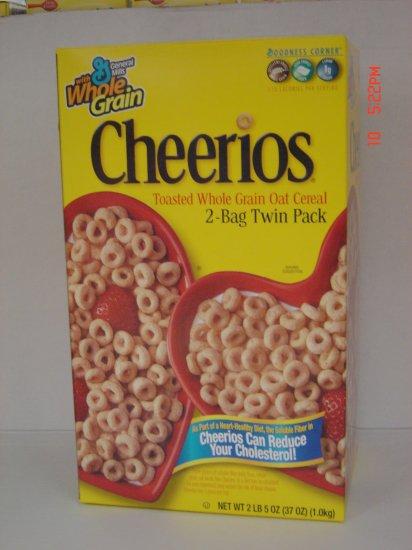 Cereal, Oat Cheerios  2 Bag (1.16 lbs., 525 g. each) Box