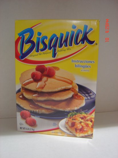 Bisquick Baking Mix (Pastry, Baked Goods) (6.0 lbs., 2700 g.)