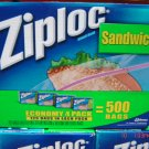 Bags, Sandwich, 4 Boxes (125 bags each) Pack