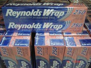 "Foil, Aluminum Wrap  2 Rolls (250 sq. feet 12"" wide each) Pack"