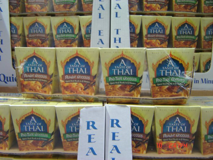 Quick Meal, Thai 4 Meal (0.33lbs.,149g. each) Variety Pack