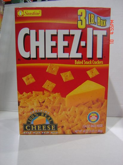 Crackers,  Cheez-it  2 Bag (1.5lbs.,681g. each) Pack
