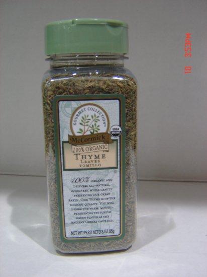 "Thyme, ""100 Percent Organic"" Herb (0.19 lbs.)"