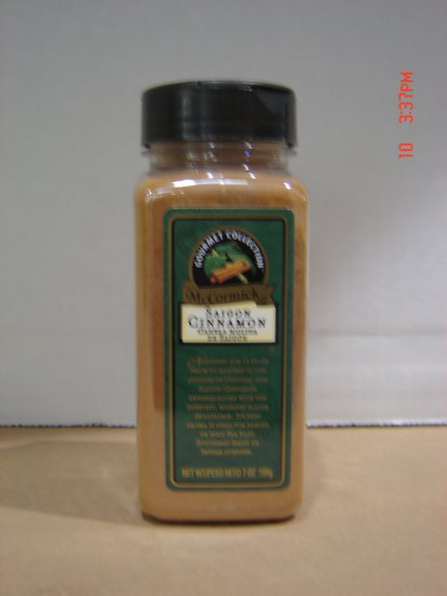 Cinnamon, Saigon 0.44 lbs., 199 grams Bottle