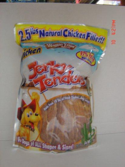 Dog Treats, Chicken Jerky Tenders  2.5 lbs.,1130 g. Pack