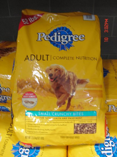 Dog Food, Adult Dog Nutrition  52 lbs., 23600 grams Package
