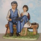 NEW Norman Rockwell LIGHTHOUSE KEEPER'S DAUGHTER figurine, NEVER DISPLAYED