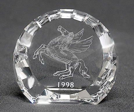Swarovski Crystal PEGASUS PAPERWEIGHT, 1998 Event Exclusive