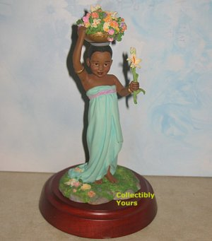 Thomas Blackshear Ebony Visions FLOWER GIRL, 37026, first issue, NIB