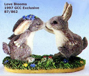 Charming Tails LOVE BLOOMS, 87/862, 1997 GCC Exclusive, MIB