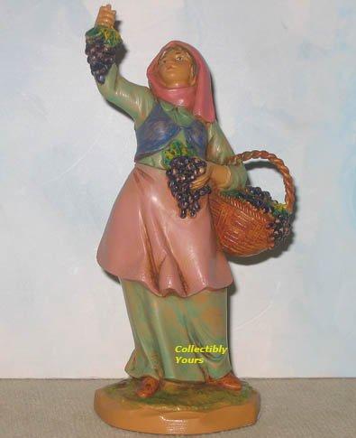 "Fontanini CARMI, 5"" Heirloom Nativity, HAND SIGNED, Vineyard, MIB"