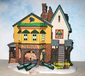 Department 56 Dickens GRAPES INN, 57534, 1996 Limited Edition, Orig. $120, MIB