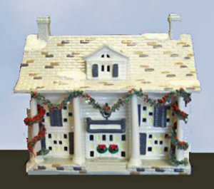 Department 56 Snow Village CUMBERLAND HOUSE,  50245,  retired in 1995,  MIB