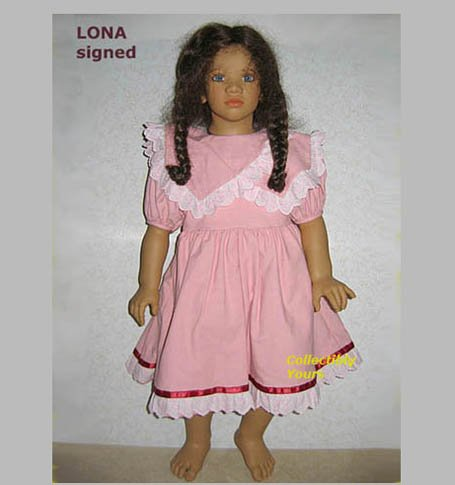 Annette Himstedt LONA, Images of Childhood, HAND SIGNED, MIB