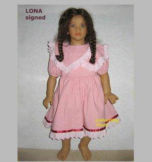 Annette Himstedt LONA, Images of Childhood, HAND SIGNED, MIB