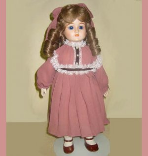 "CHRISTINA, Susan Stone Aiken, Gorham porcelain doll, 16"", Musical"