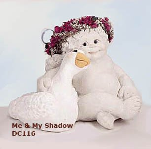 Dreamsicles ME AND MY SHADOW, DC116, Kristin Haynes, Retired in 1996, NEW