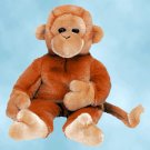 NEW (6) Ty Beanie Buddies BONGO The Monkey,  9312