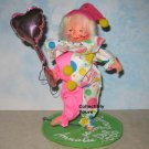 NEW Annalee Society 1990 CLOWN Logo Kid, 9648, Never Displayed