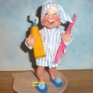 NEW Annalee BEDTIME KID with Pink Toothbrush 2350,  Never displayed