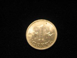 1958 Markka Coin