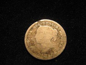 1888 VICTORIA DEI GRATIA REGINA 5 cent Silver Canadian Coin
