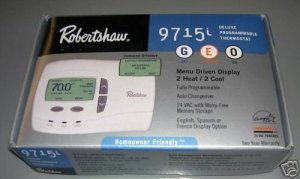 Robertshaw 9715i or Invensys 9715i Thermostat 2 HT 2 CL