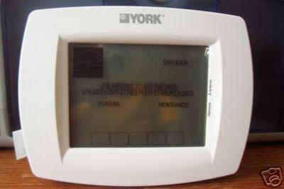 York 2pp32u70124 Touch Screen Universal Programmable
