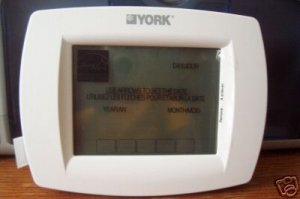 YORK 2PP32U70124 Touch Screen Universal Programmable Thermostat   S1-2PP32U70124