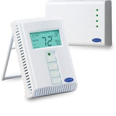 Carrier TSTATCCPRF01 TSTATCCREC01 wireless thermostat