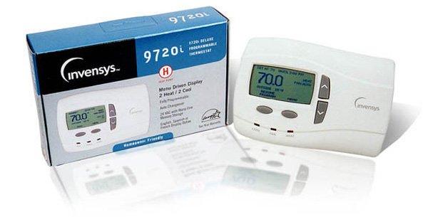 Thermostat Invensys Robertshaw 9720i Heat Pump Thermostat