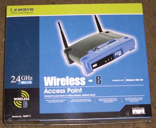 New Linksys Wap11 Wireless Network Access Point 802 11b