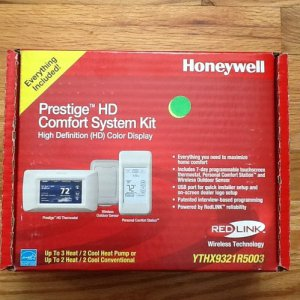 Honeywell YTHX9321R5003 - Prestige HD Comfort System Kit NEW IN BOX