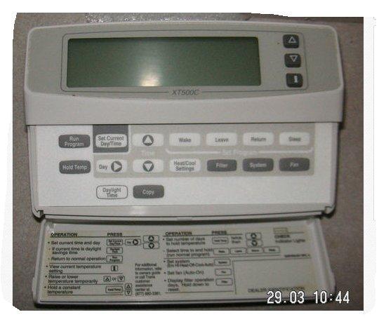 trane xt 500c xt500c taystat500c heat pump thermostat