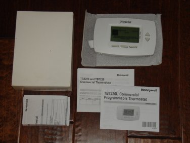 Honeywell TB7220U1004 Commercial Programmable thermostat