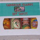 4 Pack Gift Box - Caribbean Islands Hot Sauce