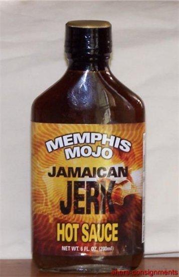 Memphis Mojo Jamaican Jerk Hot Sauce 6oz