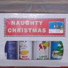 Naughty Christmas Mistletoe 4 Pack Hot Sauce Gift Box