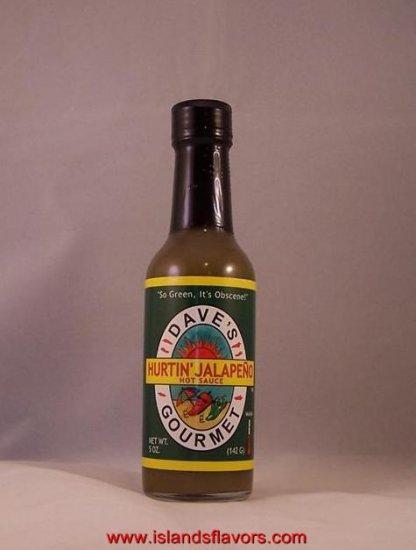 Dave's Gourmet Hurtin' Jalapeno Hot Sauce 5oz Bottle