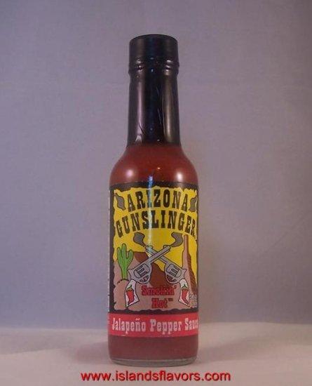 Arizona Gunslinger Smokin Hot Red Jalapeno Pepper Sauce