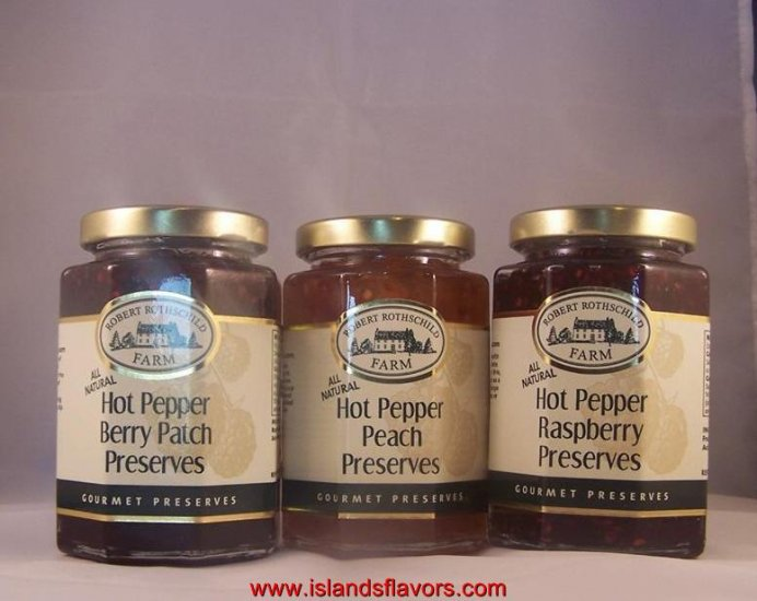 Robert Rothschild 3pk Hot Pepper Gourmet Preserves