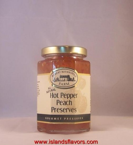 Robert Rothschild Hot Pepper Peach Gourmet Preserves