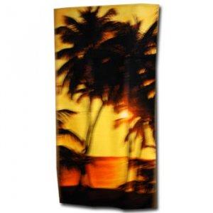 Beach Towel Sunset
