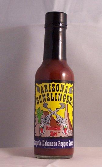 Arizona Gunslinger Chipotle Habanero Pepper Sauce 5 oz