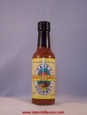 Dave's Gourmet Roasted Garlic Hot Sauce 5oz