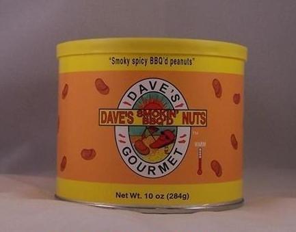 Dave's Gourmet Smokin' BBQ'd Nuts 10oz