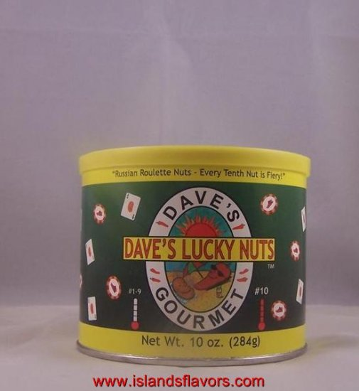 Dave's Gourmet Lucky Nuts 10oz
